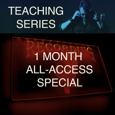 One month teaching series special