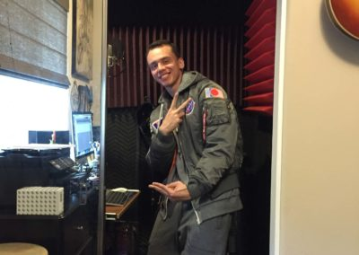 Logic in Steve Blum's home studio