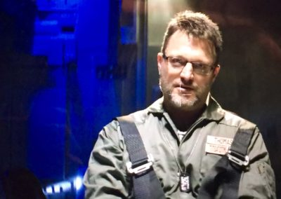 Steve Blum as Quentin Thomas on the Aquarius III