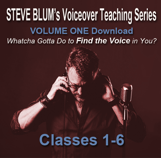 Steve Blum's Voiceover Teaching Series Vol I