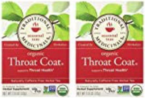 Steve Blum recommends Organic Throat Coat Tea