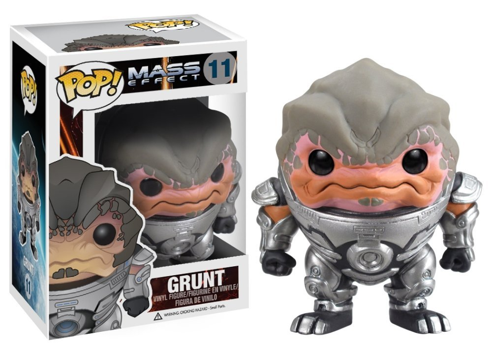 Steve Blum recommends Grunt from Mass Effect Funko Pop figure