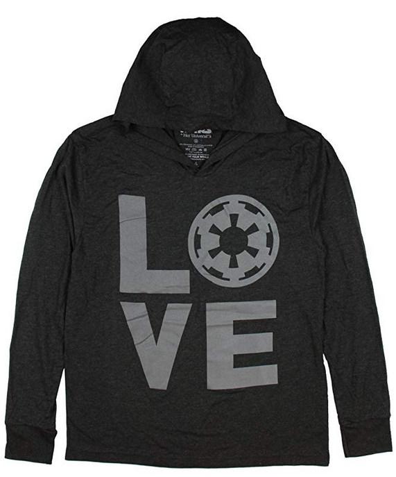 Steve Blum recommends Her Universe Women's Star Wars Imperial LOVE Logo Jacket