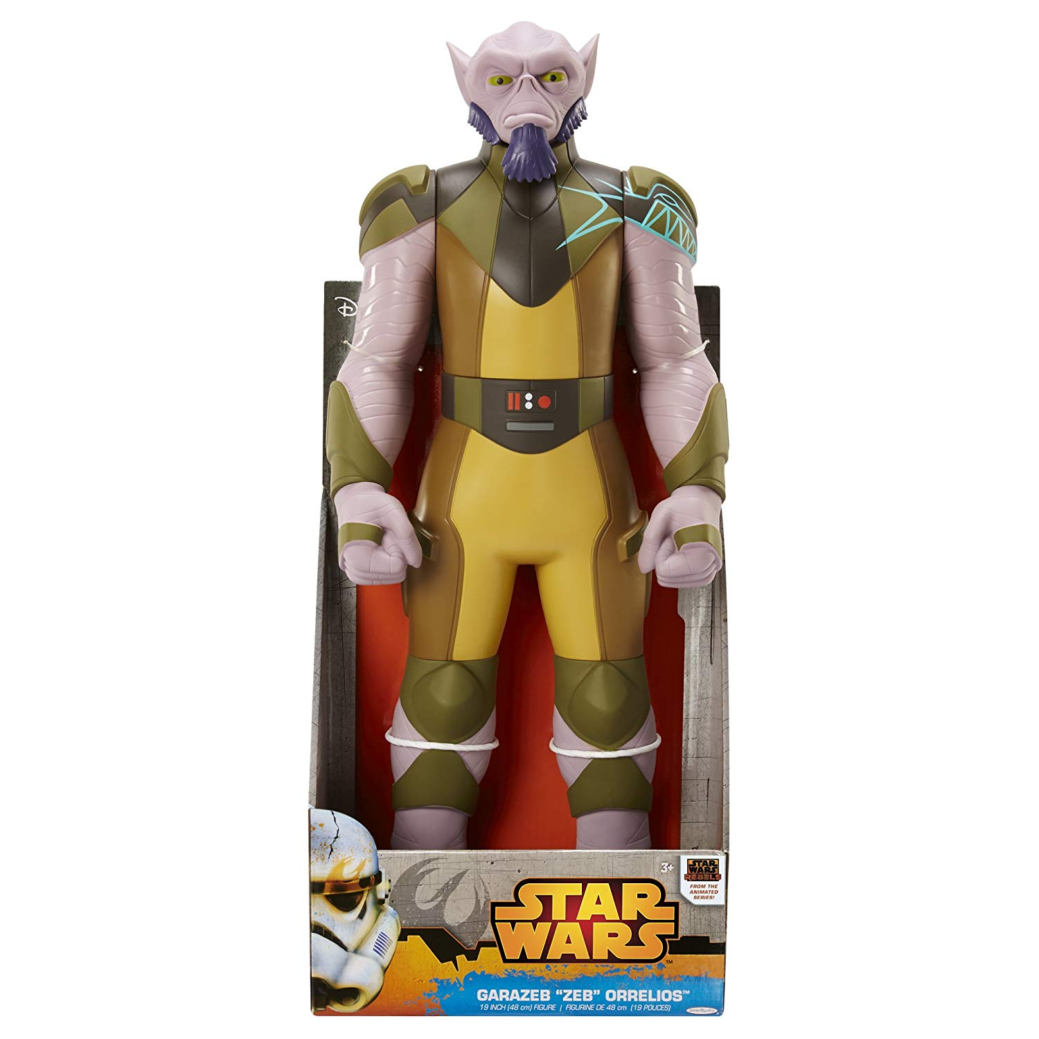 Steve Blum recommends Star Wars Rebels Zeb Figure