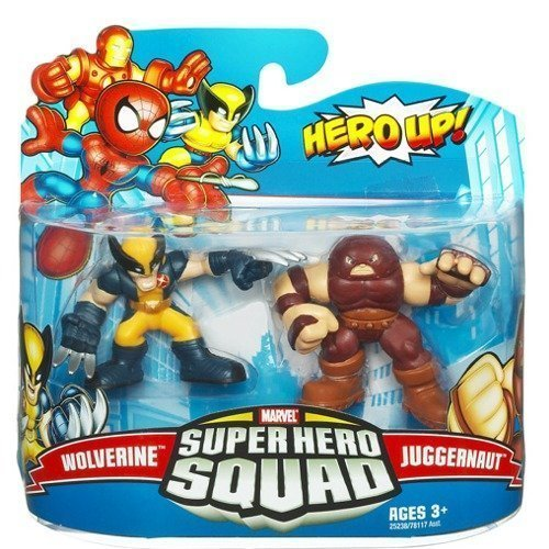 Steve Blum recommends Super Hero Squad Wolverine and Juggernaut figurines