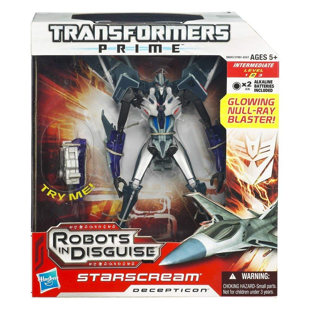 Steve Blum recommends Transformers Prime Series One Starscream Figure