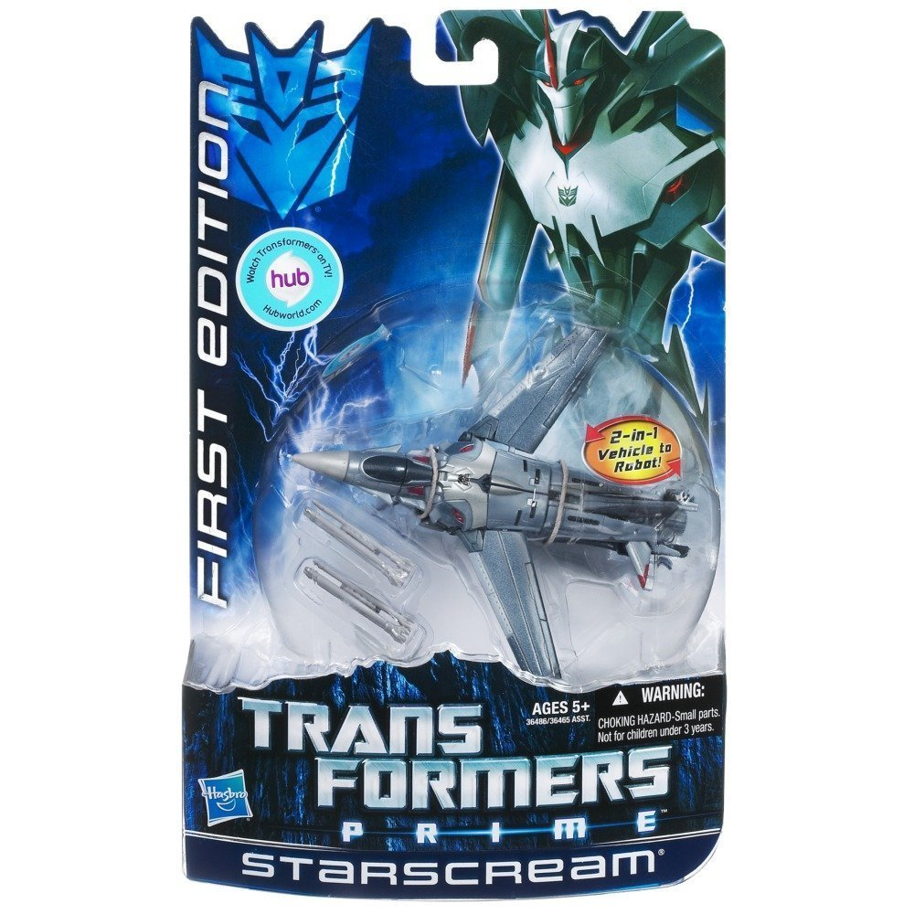 Steve Blum recommends Transformers Prime Starscream First Edition figure