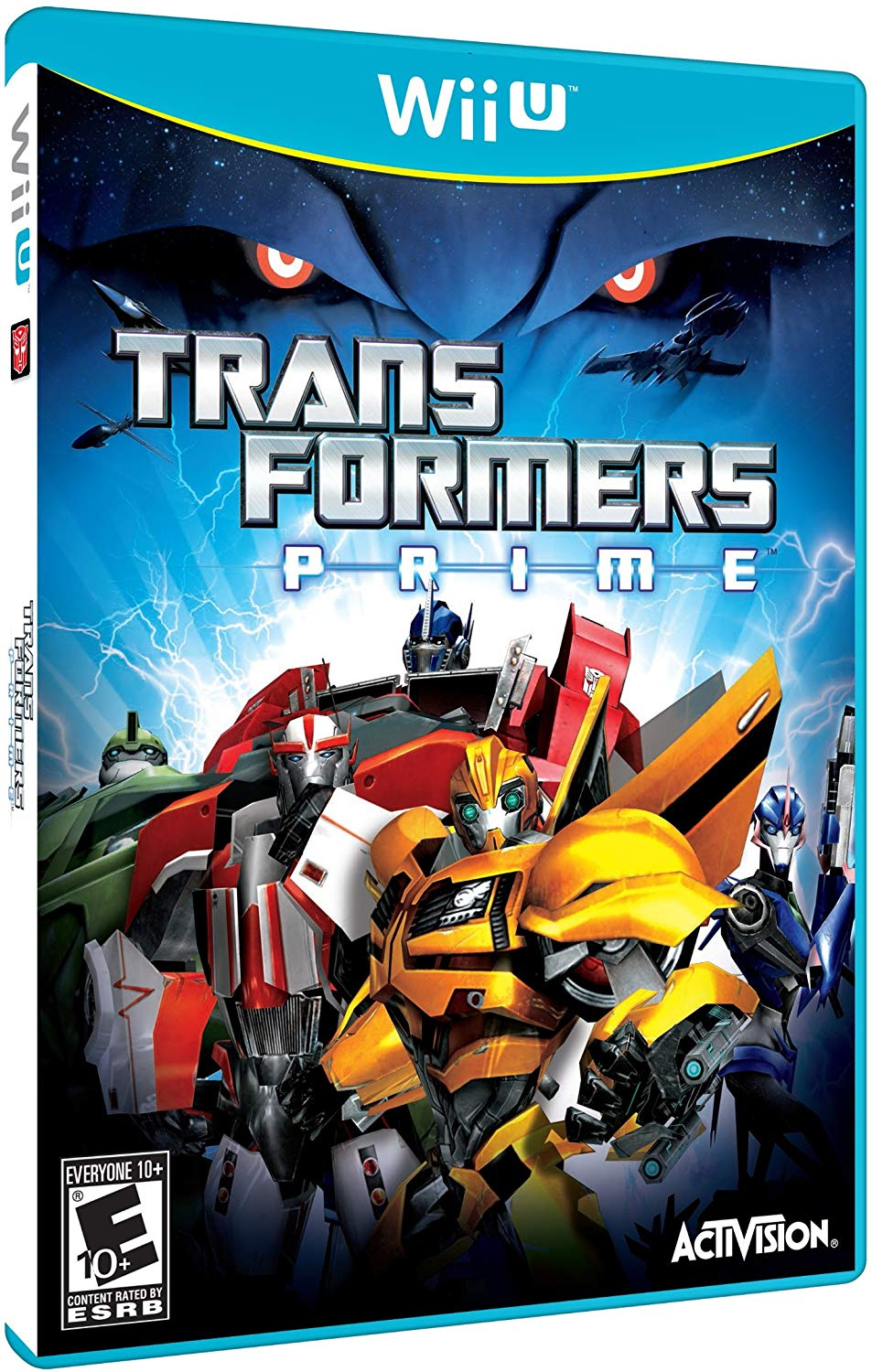 Steve Blum recommends Transformers Prime: The Game for Wii U