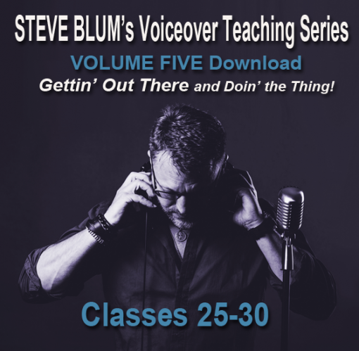 Voiceover, teaching