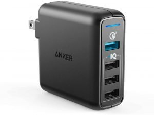 Steve Blum recommends Anker 4-Port Wall Charger (3.0)